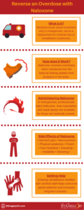 Reverse an overdose with naloxone infographic