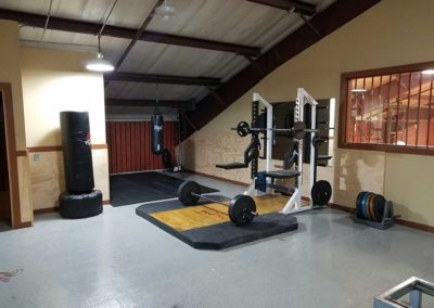 Gym Platform - St. Gregory's