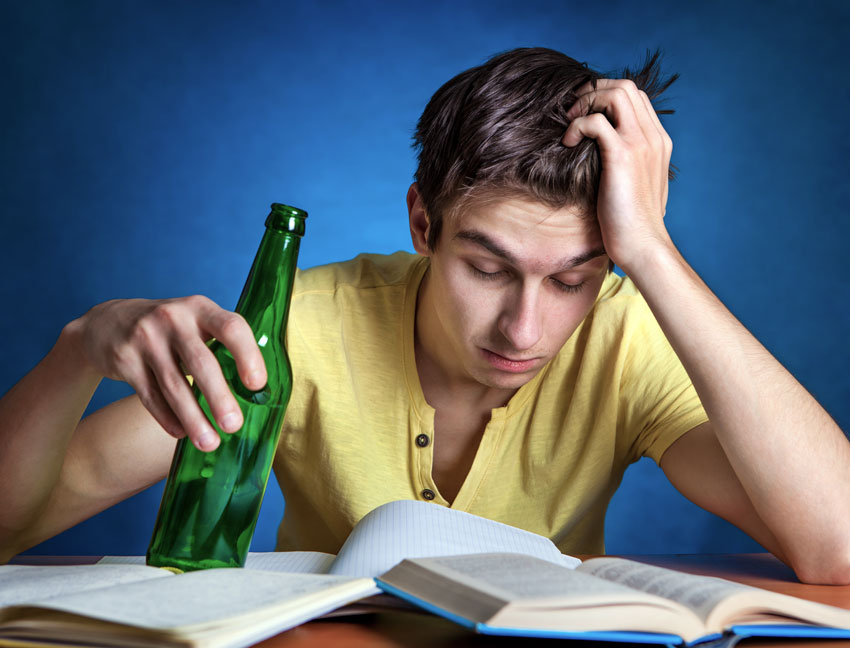 Like Oil and Water: Substance Use and Studying Don't Mix