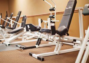 free weight machines indoor gym