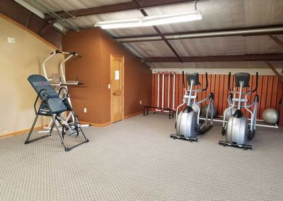 Inversion Table and Elliptical - St. Gregory's