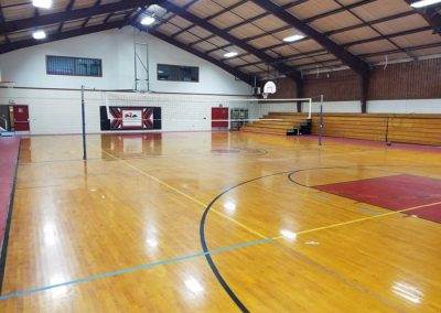 Gym Court - St. Gregory's