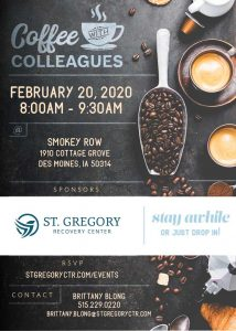 Coffee with Colleagues February 20 2020