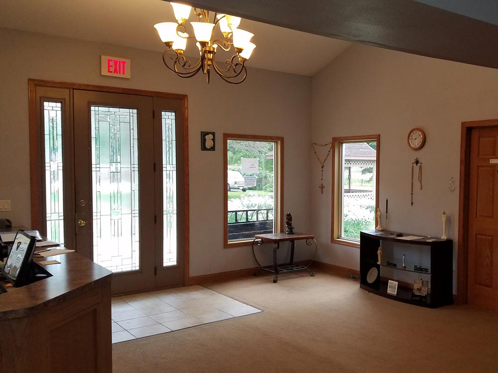 St. Gregory Recovery Center - front area - iowa addiction recovery center