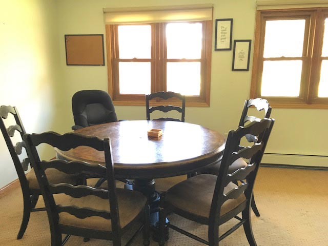St. Gregory Recovery Center - dining room - iowa addiction treatment center