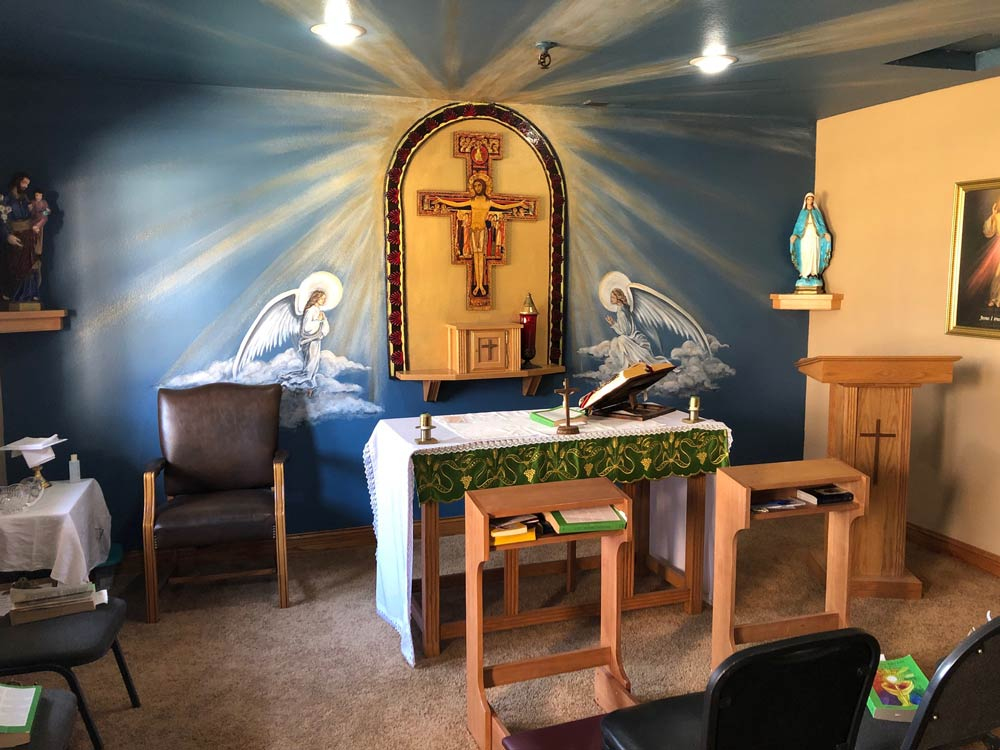St. Gregory Recovery Center Chapel - iowa faith based drug and alcohol rehab center